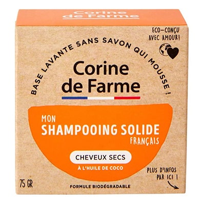shampoing solide cheveux secs